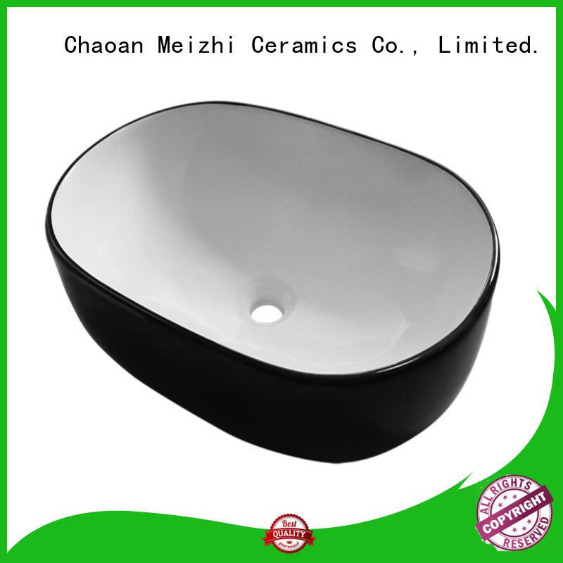 Meizhi modern basin black manufacturer for washroom