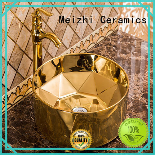 Meizhi art basin factory price for washroom