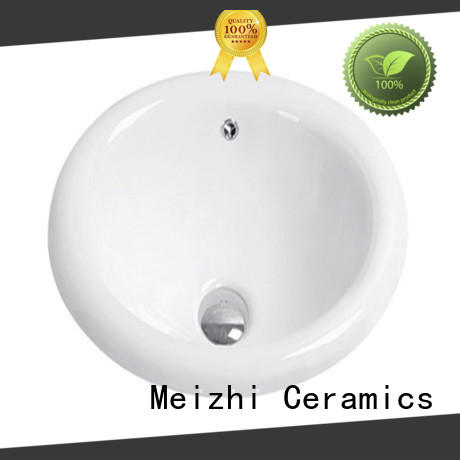 Meizhi high quality countertop sink supplier for bathroom