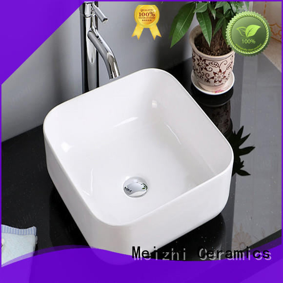 fancy wash basin size wholesale for home
