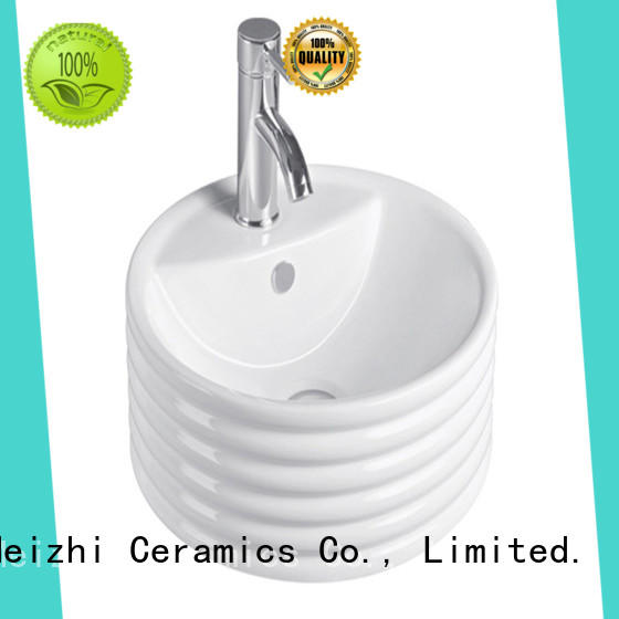 Meizhi printed ceramic wash basin wholesale for home