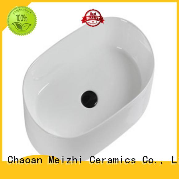 Meizhi elegant ceramic basin directly sale for home