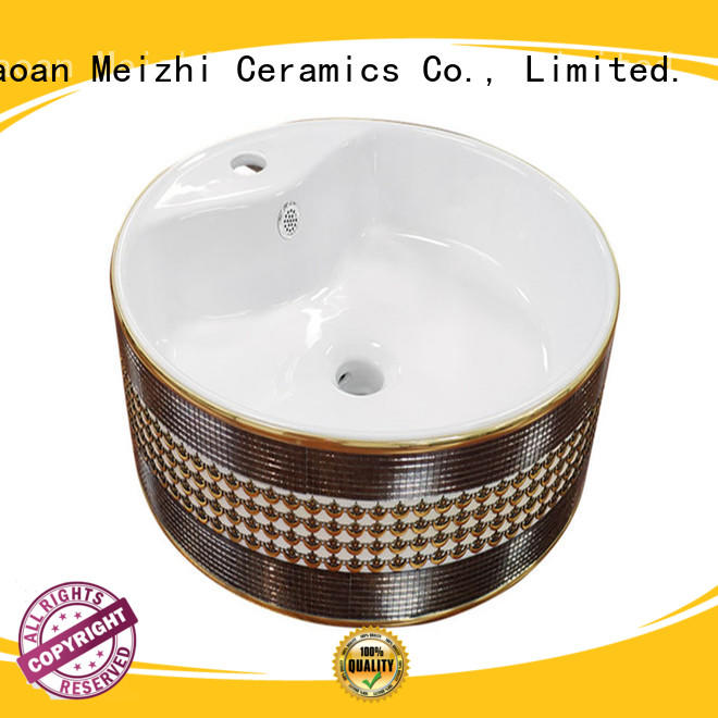 Meizhi ceramic art basin factory price for bathroom