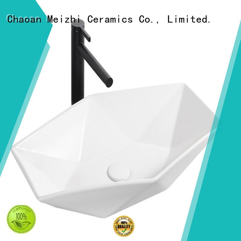 Meizhi cheap wash basin customized for hotel