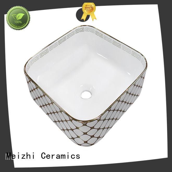 Meizhi round wash basin customized for washroom
