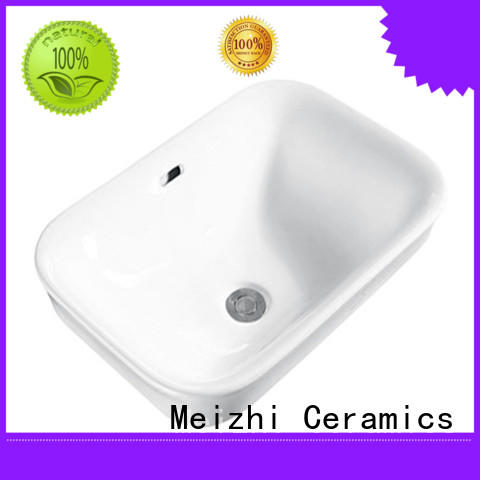 popular above counter bathroom sink supplier for home