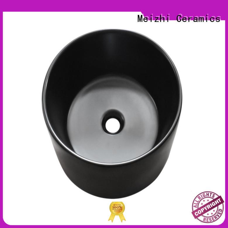 creative black bathroom sink factory price for washroom