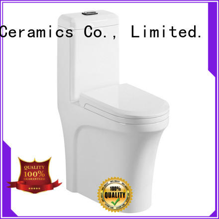 ceramic one piece comfort height toilet with good price for hotel