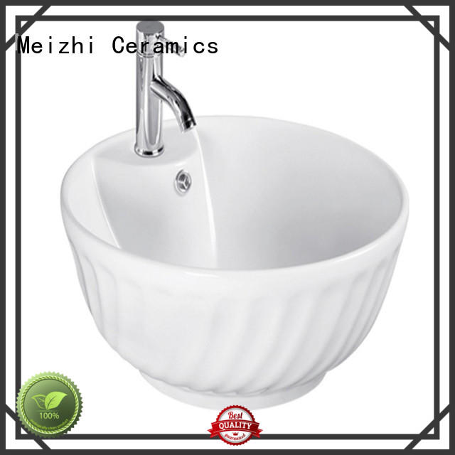 printed ceramic basin directly sale for hotel
