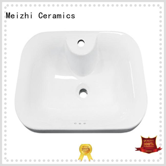 Meizhi high quality above counter sink manufacturer for washroom