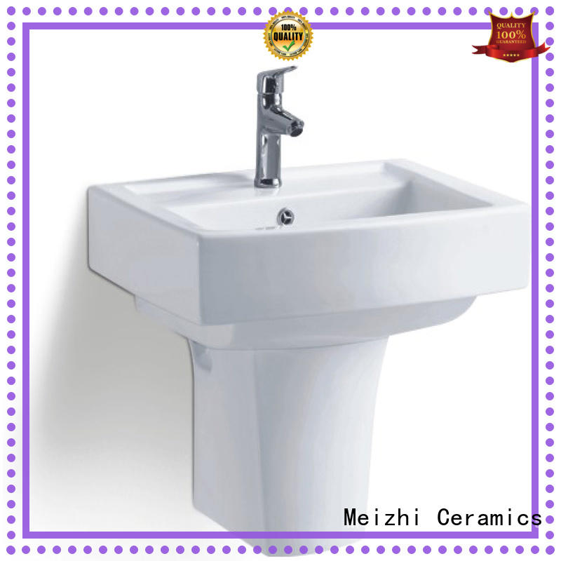 Meizhi high quality wall hung basin supplier for washroom