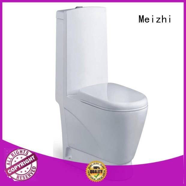 Meizhi one piece elongated toilet manufacturer for washroom