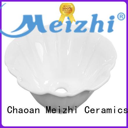 Meizhi fancy round wash basin wholesale for washroom