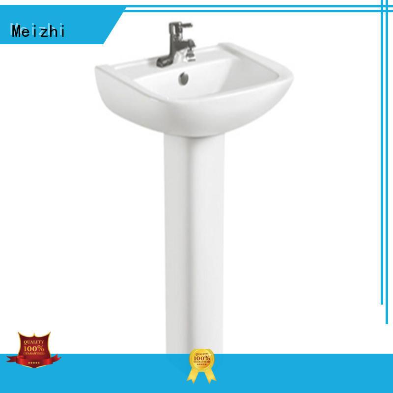 Meizhi hindware basin manufacturer for hotel