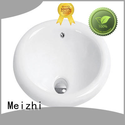 Meizhi countertop basin supplier for bathroom