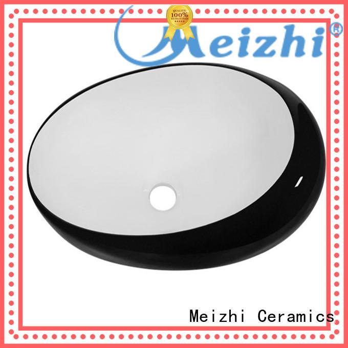 Meizhi black bathroom basin factory for bathroom