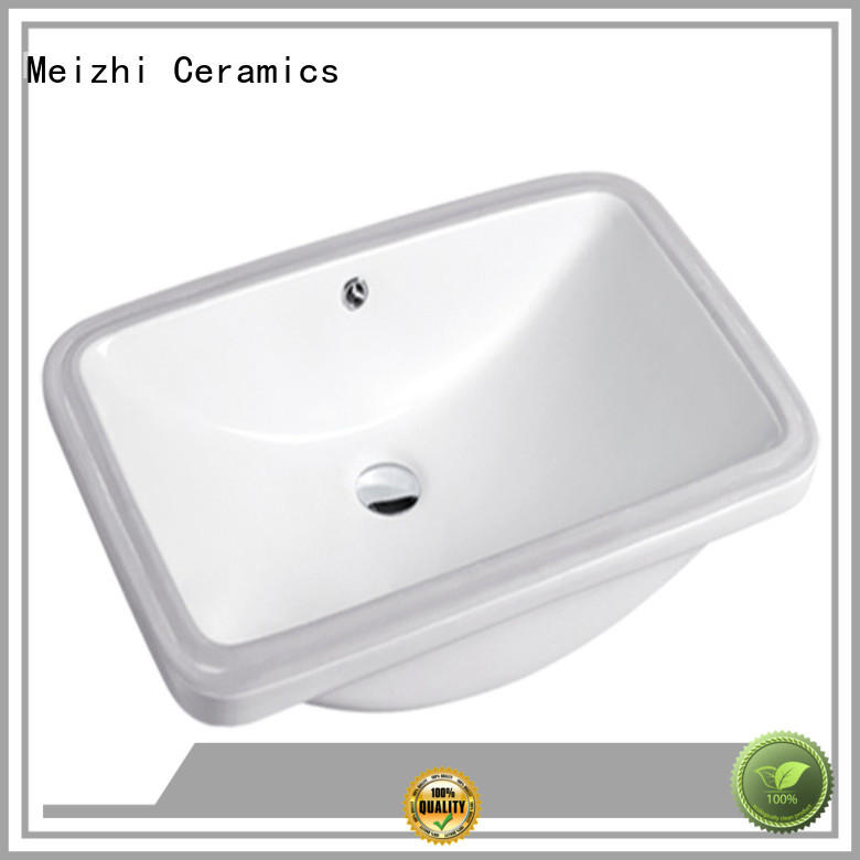 Meizhi under counter wash basin directly sale for washroom