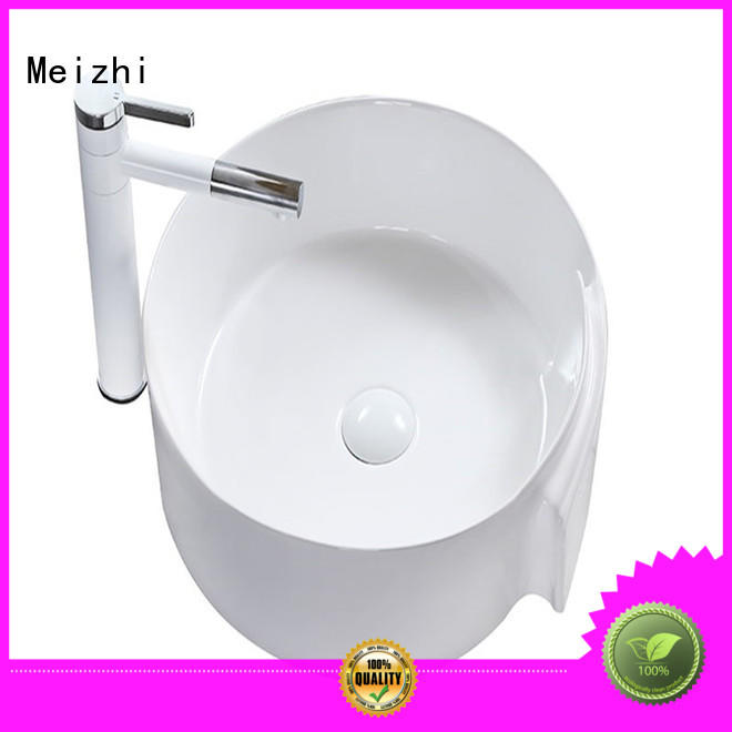 Meizhi ceramic cheap wash basin directly sale for hotel