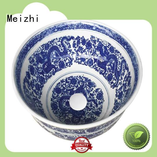Meizhi toilet hand basin supplier for washroom