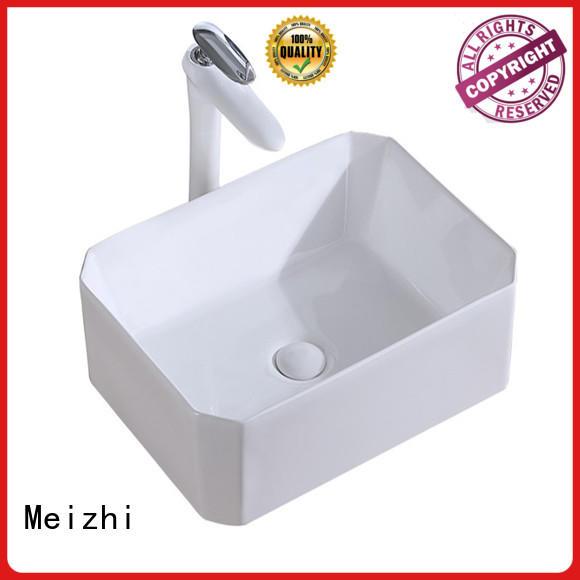Meizhi ceramic basin customized for washroom