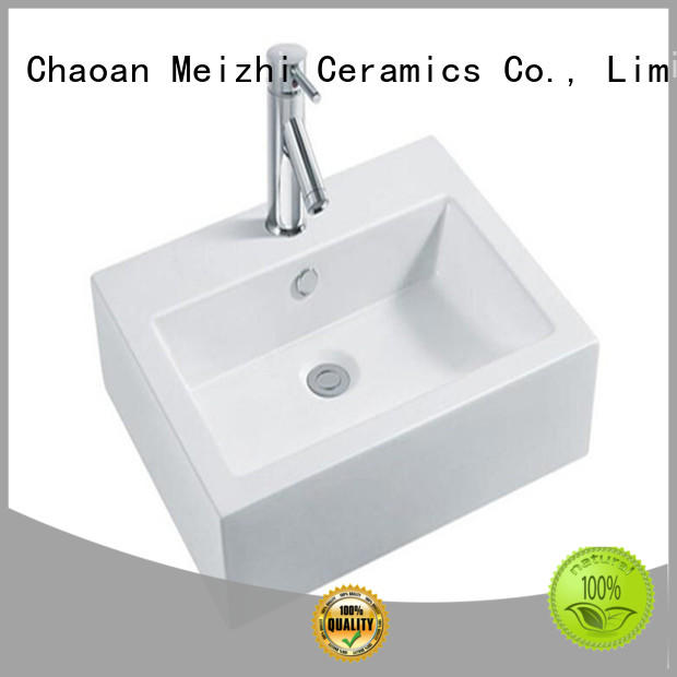 Meizhi white latest wash basin customized for home