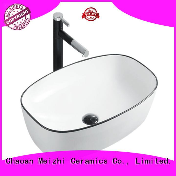 Meizhi reliable black bathroom sink custom for bathroom