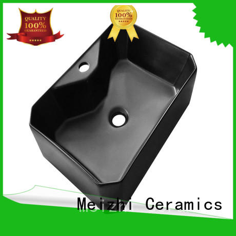 Meizhi high quality basin black supplier for washroom