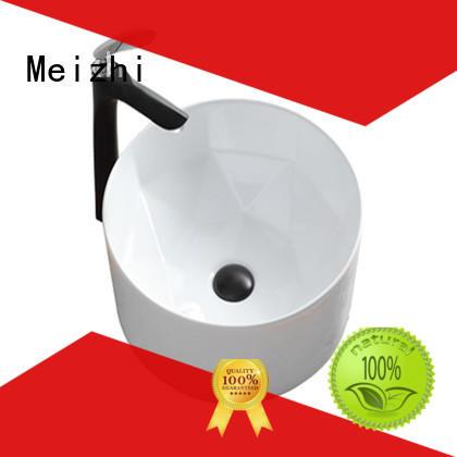 Meizhi ceramic toilet basin customized for hotel