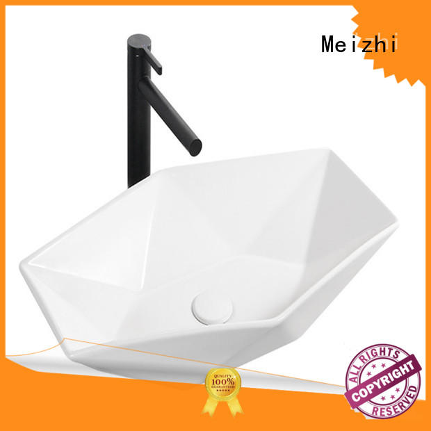 Meizhi wash basin size customized for hotel