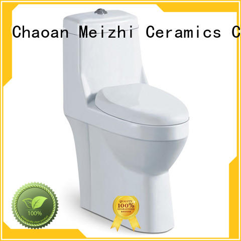 self-cleaning one piece elongated toilet with good price for washroom