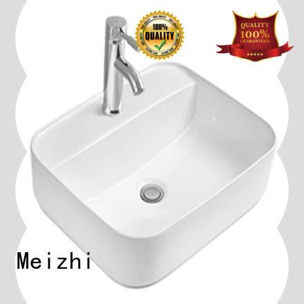 Meizhi ceramic wash basin directly sale for hotel