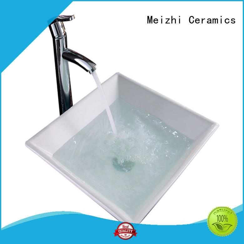 Meizhi printed cheap wash basin factory price for washroom