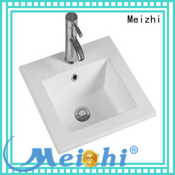 Meizhi high quality bathroom basins and cabinets manufacturer for hotel