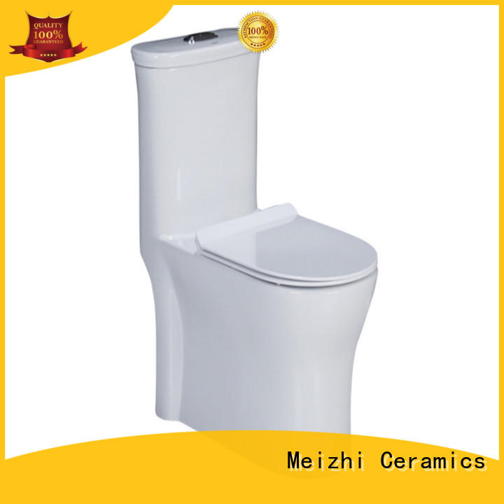 Meizhi siphonic single piece toilet wholesale for hotel
