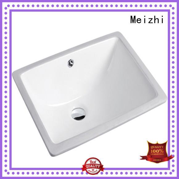 Meizhi table top basin wholesale for washroom