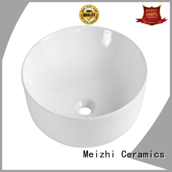 ceramic round wash basin customized for washroom
