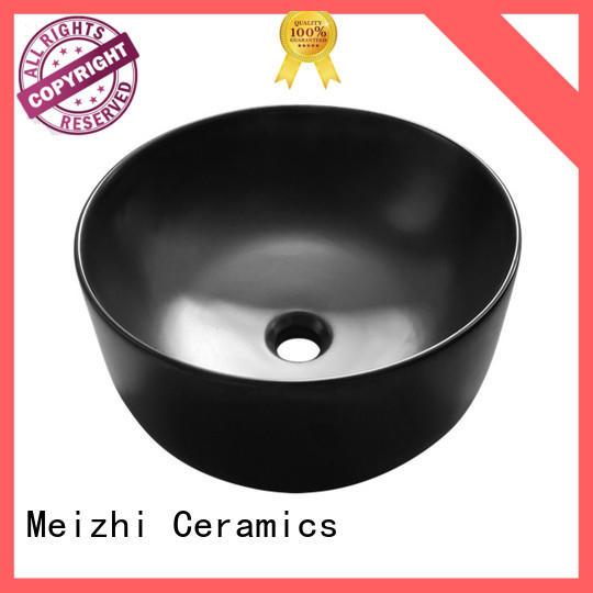 Meizhi popular black bathroom basin manufacturer for bathroom