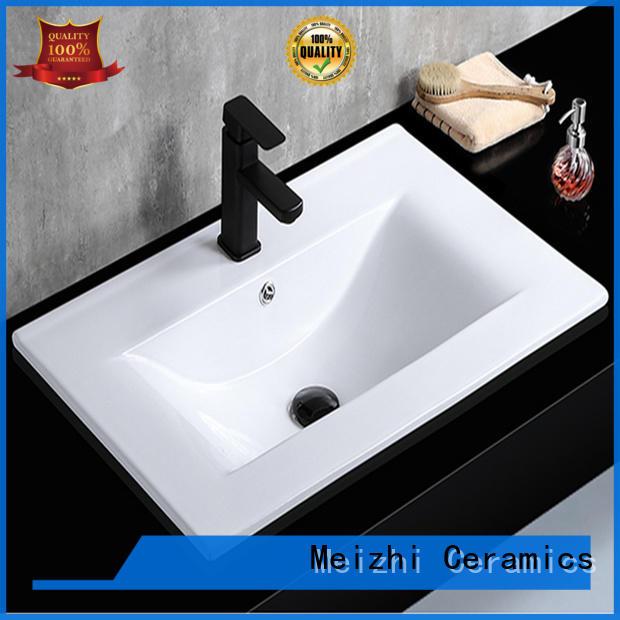 Meizhi ceramic basin unit supplier for washroom