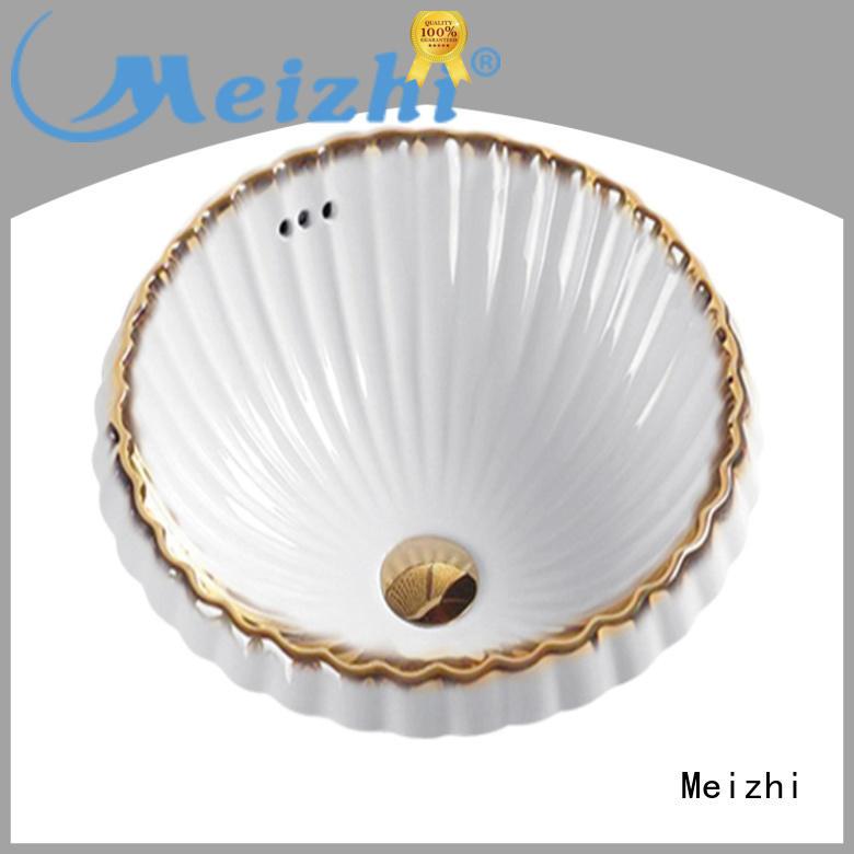 modern design gold wash basin supplier for hotel