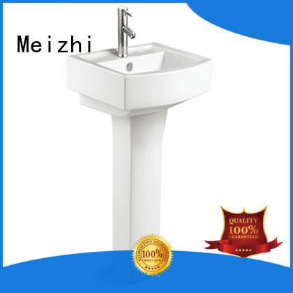 high quality pedestal basin with good price for hotel