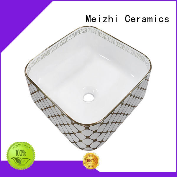 printed art basin wholesale for home