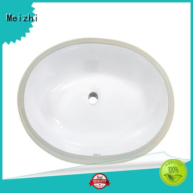 Meizhi ceramic counter basin supplier for washroom