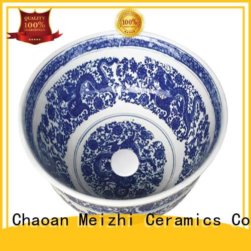 fancy ceramic basin customized for bathroom