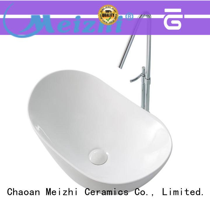 Meizhi ceramic basin factory price for bathroom