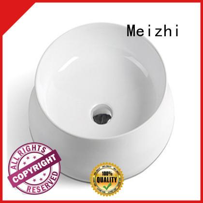 Meizhi gold wash basin manufacturer for hotel