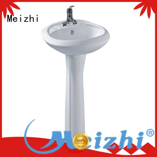 high quality full pedestal basin wholesale for washroom