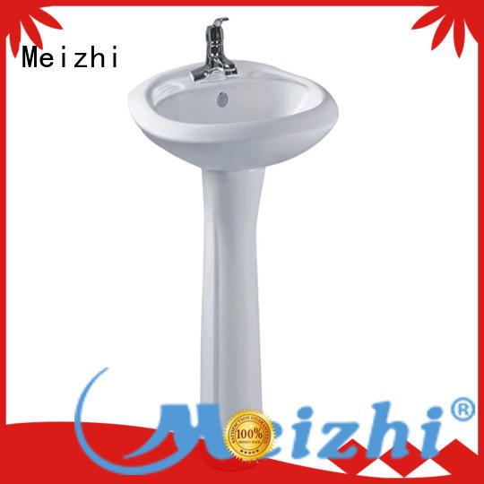 high quality full pedestal basin wholesale for washroom