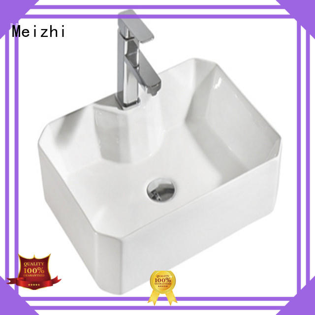 Meizhi latest wash basin factory price for hotel