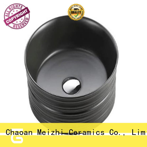 Meizhi black basin supplier for bathroom