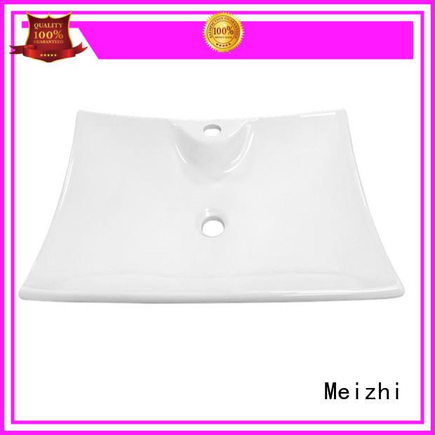 white ceramic wash basin customized for home
